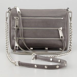 Rebecca Minkoff mini 5 zip crossbody bag